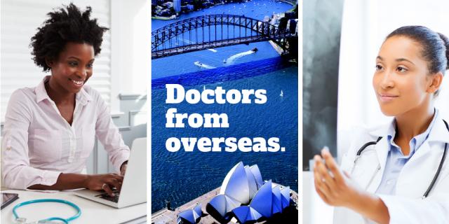 Doctors from overseas